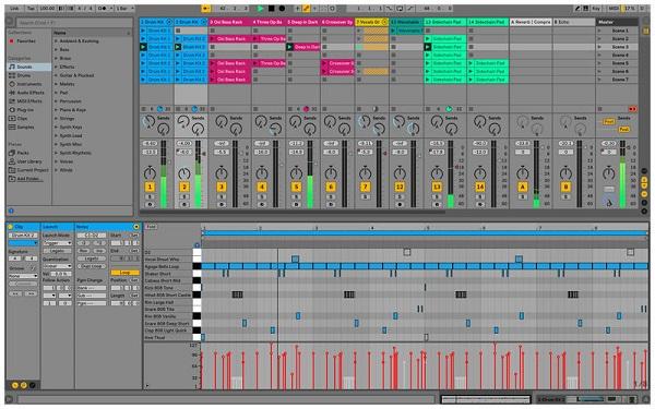 نرم افزار Ableton live