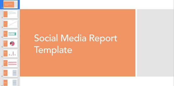 الگوی گزارشگری رسانه اجتماعی