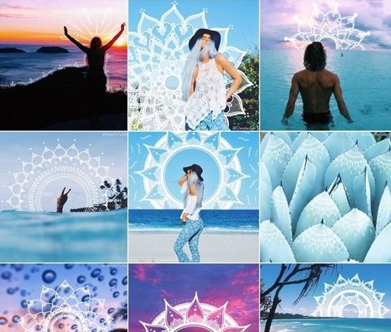 طراحی پست اینستاگرام با کمک نقاشی