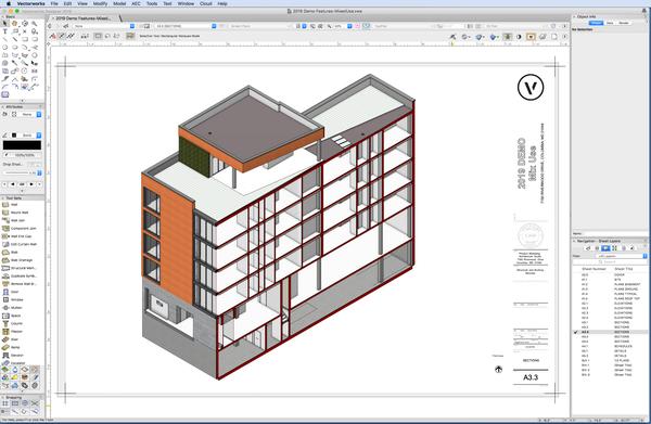 نرم افزار زراحی معماری وکتور ورکس