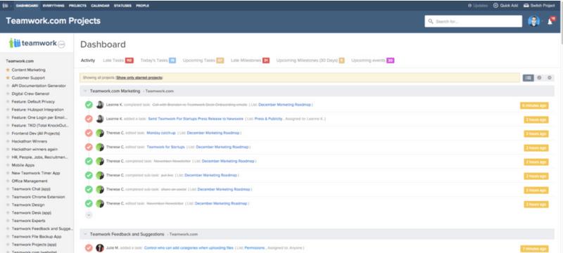 نرم افزار مدیریت پروژه تیم ورک