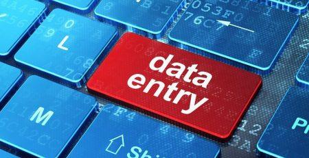 ورود داده یا دیتا اینتری