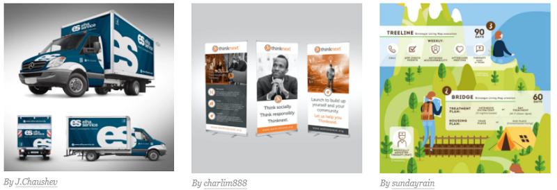 طراحی گرافیک بازاریابی و تبلیغات 2
