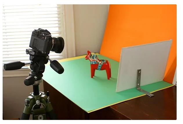 کارت بازتابی مجزا در عکاسی از محصول