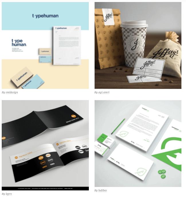 طراحی گرافیک هویت بصری