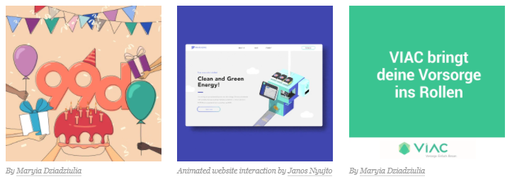 انواع موشن گرافیک در طراحی گرافیک