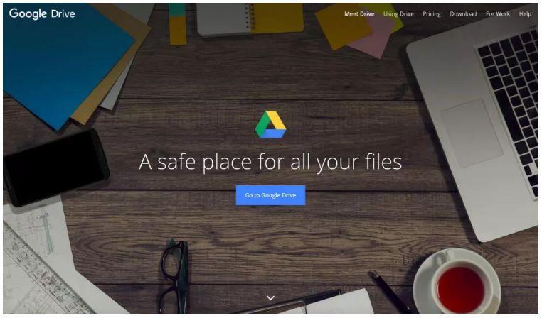 گوگل درایو برای ارسال فایلهای حجیم