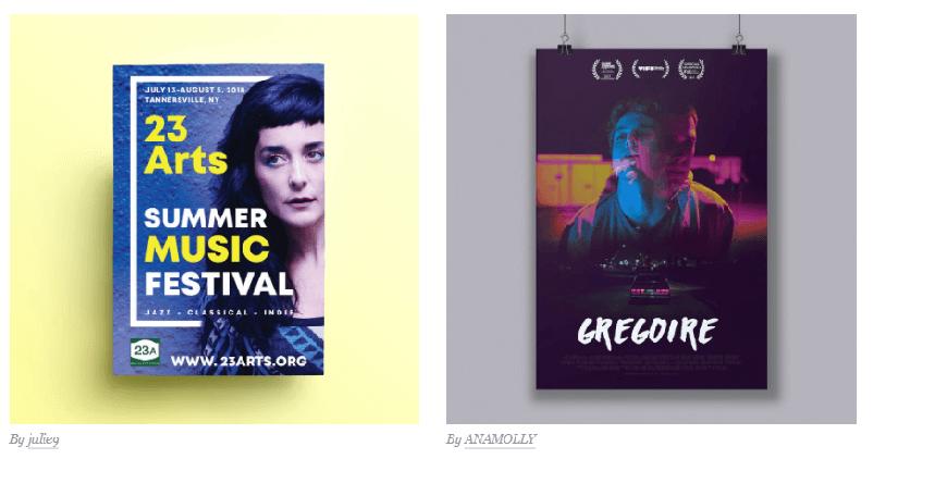 انواع طراحی گرافیک بازاریابی و تبلیغات 3