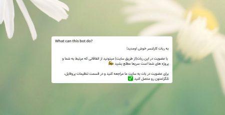 بات تلگرام کارلنسر