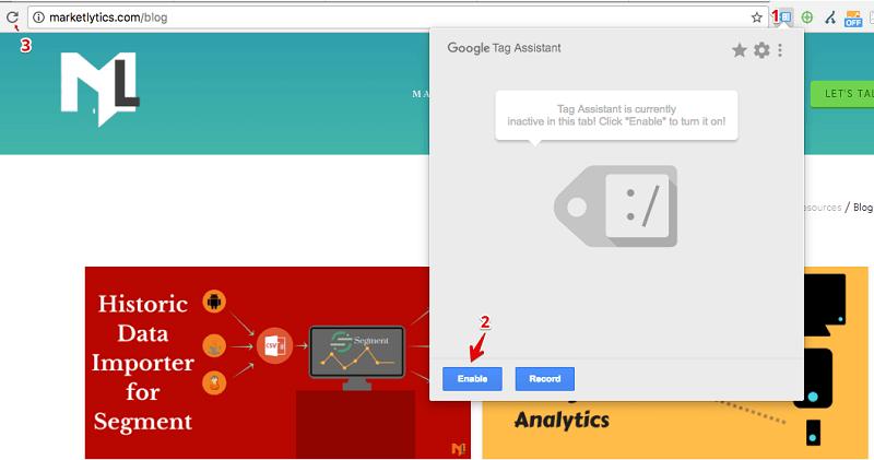 افزونه گوگل تگ اسیستنت در گوگل آنالایتیکس