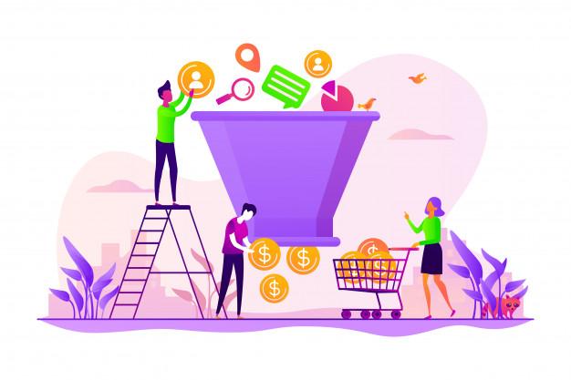 اصل اعتبار در قیف فروش