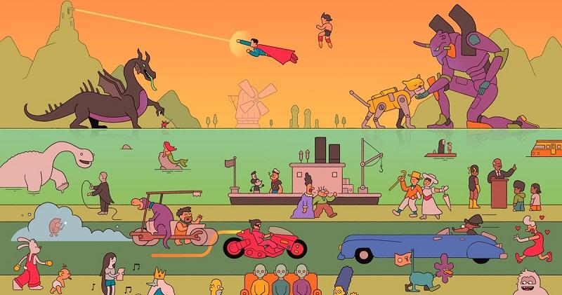 اهمیت داستان سرایی در انیمیشن