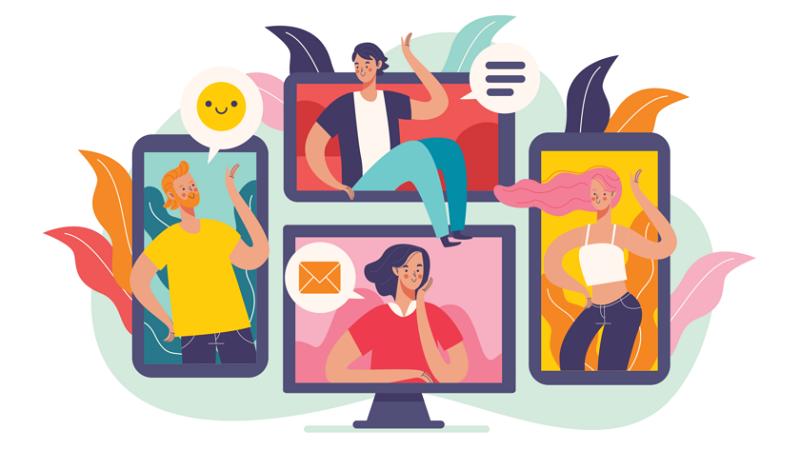 اکانت شبکه اجتماعی برای هدایت ترافیک به سمت وب سایت