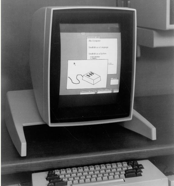 تاریخجه رابط کاربری گرافیکی