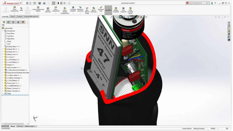 SolidWorks uses
