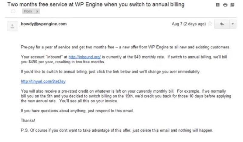 پیشنهاد فروش شرکت WPengine