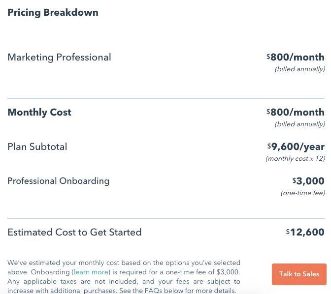 هزینه آموزش مشتری در فرایند هک رشد