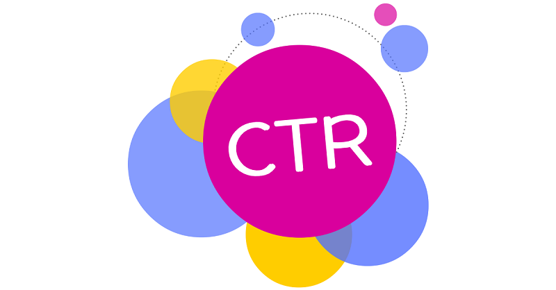 نرخ کلیک سایت یا ctr