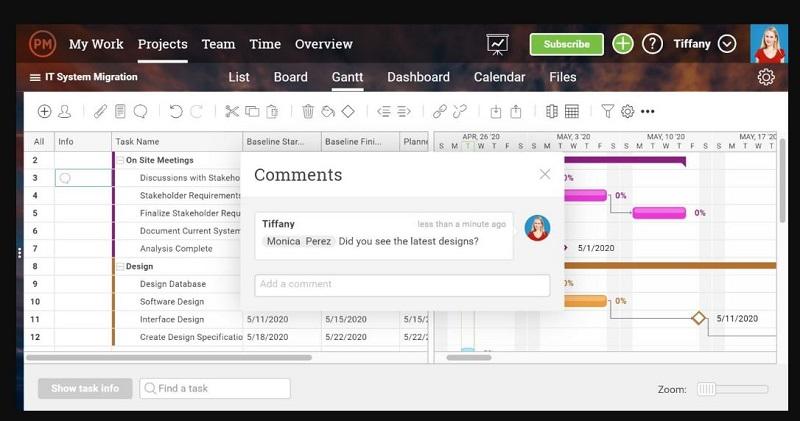 نسخه آنلاین و دسکتاپی گانت چارت